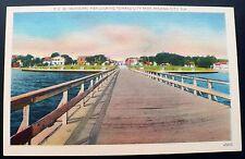 1930s Municipal Pier Looking Toward City Park, Panama City Florida