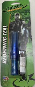 Primos 889 Bluewing Teal Cinnamon Hen Duck Greenwing Hunting Game Call