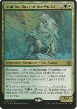 Arahbo, Roar of the World (035/309) - Commander 2017 - Mythic R. (Oversized F.)