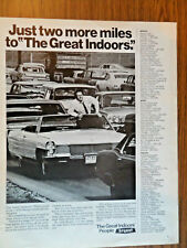 1970 Great Indoors People Bryant Air Conditioning Ad  Cadillac Convertible