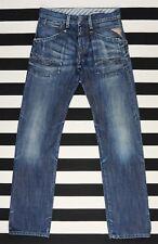 REPLAY M 945,034 SKAR Classic Fit Straight Leg Men's Blue Jeans size W28 L34