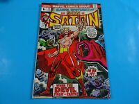 son of satan  #13 origin story key 1st marduk  marvel  comics Comic book