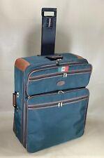 "Lark Samsonite 28"" Wheeled Upright Wide Body Suitcase Garment Luggage Green Rare"