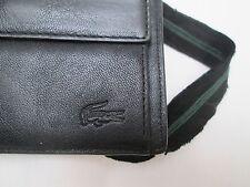 Portefeuille - porte-monnaie  LACOSTE  cuir  TBEG vintage /