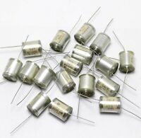 20 pcs 5600pF 500V 5% Vintage Styroflex Audio Capacitors Copper Leads USSR NOS
