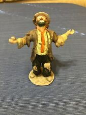 emmett kelly jr flambro collection Clown - Signed