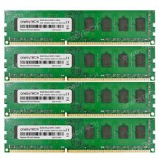 32GB 4x8GB PC3-12800 DDR3 1600 MHz 240pin For ASUS M5A78L-M/USB3 AM3+ AMD 760G +
