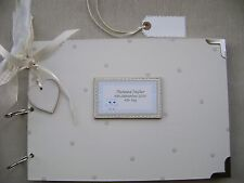 PERSONALISED. BABY BOY A4 SIZE.PHOTO ALBUM/SCRAPBOOK/MEMORY BOOK.
