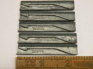 x5 off Delapena Sunnen DLP140KO Honing stones with carriers unused