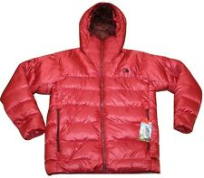 $349 NEW The North Face Mens IMMACULATOR PARKA Jacket Medium Down Cardinal Red