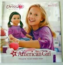 American Girl Catalog Spring 2009 Introducing Chrissa- Girl of the Year- New!