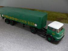 1/87 Brekina Krupp 960 Licher Bier Planen-Sattelzug