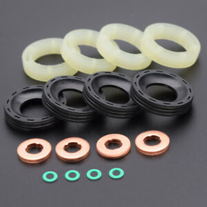 FOR CITROEN BERLINGO PEUGEOT 307 FORD FOCUS MKII WASHER ORING FUEL INJECTOR SEAL