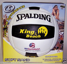 SPALDING KING OF THE BEACH VOLLEYBALL USA BEACH VOLLEYBALL SOFT SAND TOUR BALL