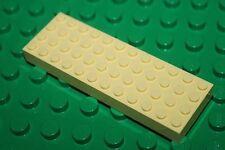 Plaque de base épaisse LEGO BELVILLE 4x12 ref 4202 LtYellow / Sets 5890 & 5808