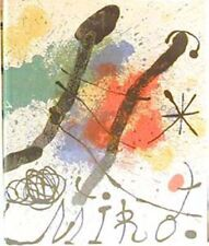 JOAN MIRO by W. ERBEN- LIMITED EDITION WITH ORIGINAL LITHOGRAPH -HARDCOVER.1960