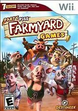 Party Pigs: Farmyard Games (Nintendo Wii, 2009) Free Shipping
