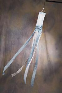 "UNC NORTH CAROLINA TAR HEELS NCAA WINDSOCK 6"" Ring Diameter x 5 ft (60"") Length"