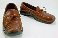 Cole Haan Country Men's Loafer Brown Leather Tassel Moc Toe Driving Size 10.5 M