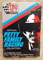 New Sealed 1991 Pro Set NASCAR Richard Petty Family Racing 50 Race Cards