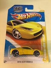 Hot Wheels Ferrari 458 Italia Yellow