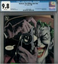 BATMAN THE KILLING JOKE nn CGC 9.8 WHITE, 1st print 1988, BATGIRL crippled