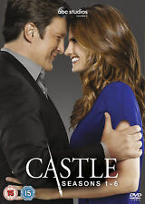 CASTLE - Series 1-7 Complete Season - 1 2 3 4 5 6 7 New & Sealed UK Region 2 DVD