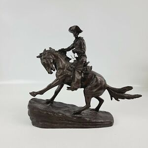 Frederic Remington Statue The Cowboy New England Collector's Society 800/9500
