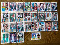 1984 CINCINNATI REDS Topps COMPLETE Baseball Team Set 28 Cards CONCEPCION SOTO