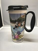 Disney Parks Let The Memories Begin Refill Plastic Travel Cup Whirley Mug