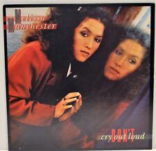 "MELISSA MANCHESTER   ""Don't Cry Out Loud""   1978 Vinyl LP   Arista AB4186   EX"