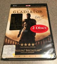 Gladiator (Dvd, 2000, 2-Disc Set) Signature Selection Russell Crowe New! Sealed!