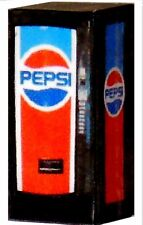 1/32 Scale LIGHTED Vending Machine - Old Style Pepsi Machine - Illuminated