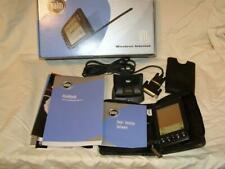 PalmOne Viix Wireless Handheld Hot Sync Cradle, Software, Manuals, Carry Case