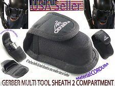 Molded Black Nylon Knife Sheath Belt Loop Pocket Knife Holster Pouch Case Holder