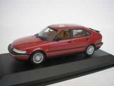 Saab 900 Saloon 1995 Eggplant 1/43 Minichamps 430170501 NEW