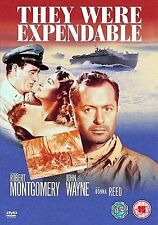 They Were Expendable DVD John Wayne Robert Montgomery UK Release New Sealed R2