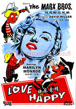 Love Happy (1949) - The Marx Brothers, Marilyn Monroe - DVD NEW