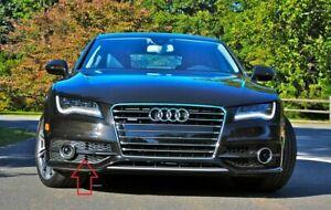 New Genuine Audi A7 S-Line Front Bumper Fog Light Grill Black Right 4G8807682CBM