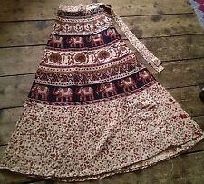 Full Length Wrap, Sarong Cotton Regular Skirts for Women