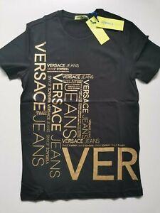 Mens men new t-shirt VERSACE top shirt size L