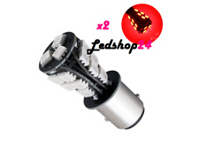 X2 BAY15D 1157 LAMPADE LED CANBUS LUCI POSIZIONE STOP 18 SMD ROSSO POWER **