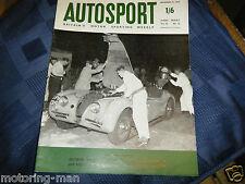 Pat Moss Ann sabiduría Austin Healey 3000 Win LIEGE ROME LIEGE Rally 1960 sprinzel
