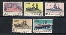 Soviet Warships  - USSR complete set of 5 -- charity sale