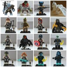 Captain Marvel Avengers Infinity War End Game Thor Mini Figures Use With Lego