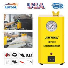 AUTOOL SDT202 Smoke Machine Diagnostic Leak Detector Testers For Car Motor EVAP