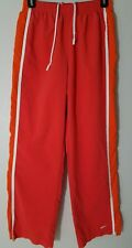 Nike Women's Size S 4-6 Peach/Orange Athletic long Drawstring Pants RN 56323