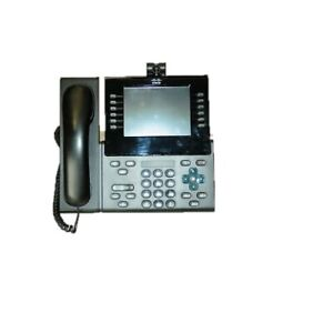 Used Cisco CP-9971-C-K9 Unified Voip 9971 Phone Charcoal No power
