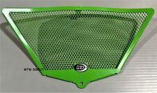 Kawasaki ZX10 R 2011 R&G Racing Downpipe Grille DG0003GR Green