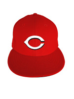 New Era Cincinnati Reds Hat 59Fifty Size 7 3 8 Fitted Cap Mlb Red USA
